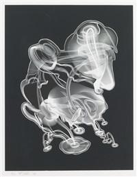 schwarze wisheit #2 by frank stella