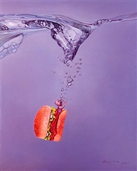 how deep can it go? a hamburger by kang can