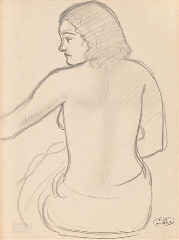nude back by andré derain