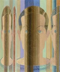 portrait j m ii by johannes molzahn