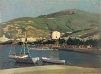 marina contro il monte perone by llewelyn lloyd