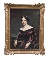 portrait of anna ashmead by william jewett and samuel waldo