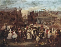 greenwich fair by augustus edwin mulready