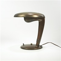 table lamp by norman bel geddes