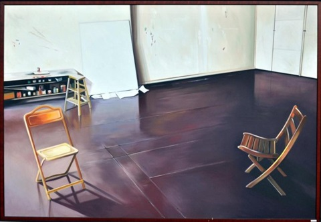 Alex Katzu0027s Studio   72 By Lowell Nesbitt