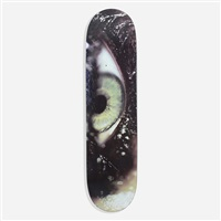 eye skateboard deck by marilyn minter