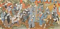 szene einer festnahme by japanese school-meiji (19)