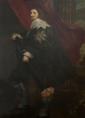 portrait of philip 4th earl of pembroke by sir anthony van dyck