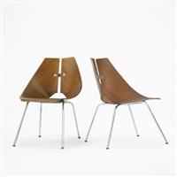 chairs model 939 (pair) by ray komai