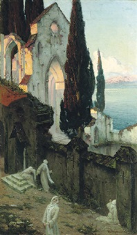 at the monastery walls by mikhail mikhailovich adamovich