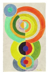 rhythme 1 by robert delaunay