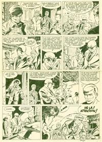 bernard prince - planche 2 d'un récit de jeunesse de bernard prince édité dans l'album d'hier et d'aujourd'hui au lombard en 1980 by hermann