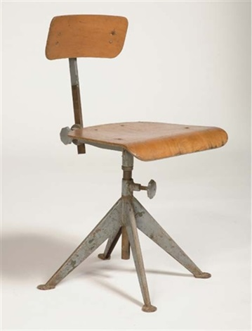 Office Swiveling Chair By Jean Prouvé