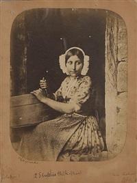 a shropshire milk-maid by oscar gustave rejlander
