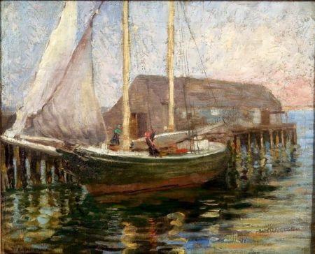 schooner quotsally annequot by minnie rogers steele