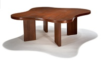biomorphic table by edward h. fickett