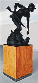 untitled (war museum) by wilhelm sasnal