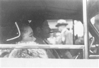 untitled (couple in car) by leon levinstein