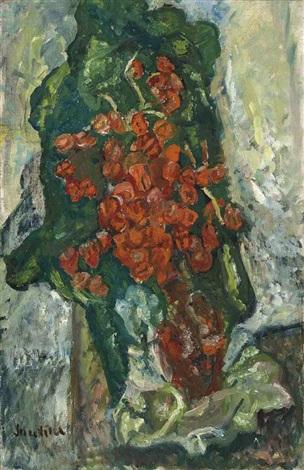 bouquet de fleurs by chaïm soutine