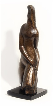 walking girl (heroica) by alexander archipenko