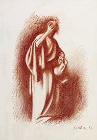 scena dal vangelo by gregorio sciltian