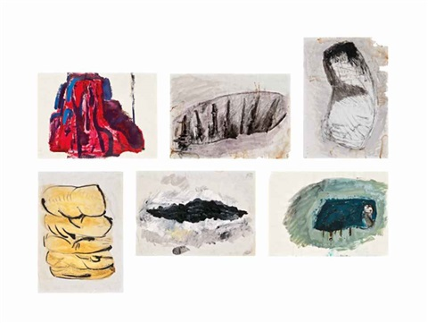 i vi untitled 6 works by phyllida barlow