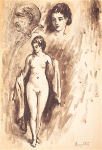 the poet and the muse by louis anquetin