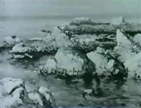 sea rocks by ron goebel