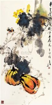 秋实图 by liu shijun
