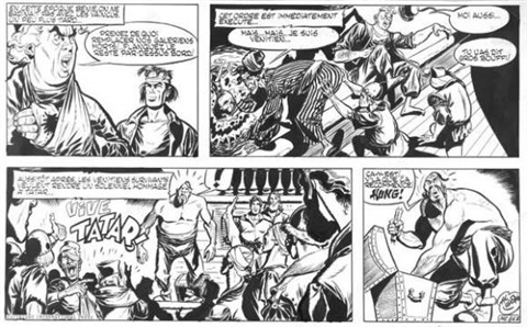 belloy demi planche n°24 b by goscinny and uderzo