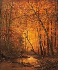 fall stream by arthur parton