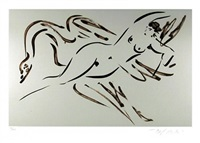leda and the swan - 2 by reuben nakian