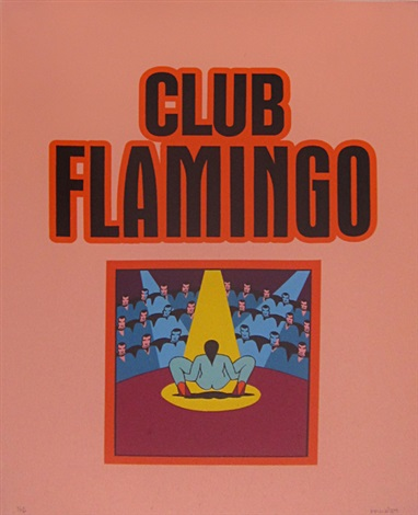 club flamingo by ken price