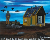 last visit by dr derek hill to his hut on tory by patsy dan rodgers