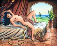 la chanson baudelaire (le serpent qui danse) by jacques de loustal