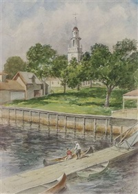 kennebunkport by frank thayer merrill