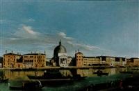 il canal grande a san simeon piccolo by francesco albotti