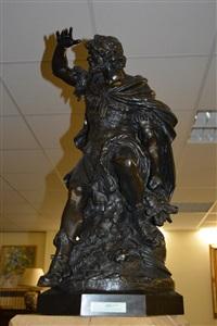 le guerrier antique importante by mathurin moreau
