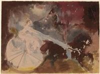 female circus rider by artur v. fonvisin