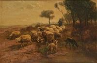 la conduite du troupeau de moutons by henry schouten