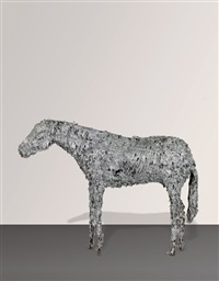 aluminum horse no. 2 by deborah butterfield