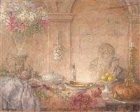 a table still life by ruud krijnen