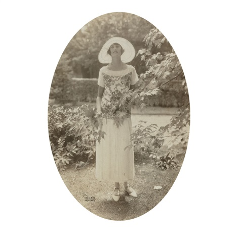 portrait of a woman by edward steichen