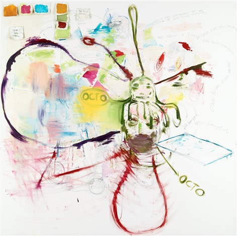 untitled octo by bjarne melgaard