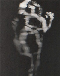 female nude (distortion) by paul heisman