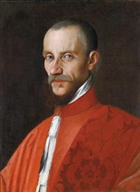 porträt eines senators - ritratto di senatore by domenico tintoretto