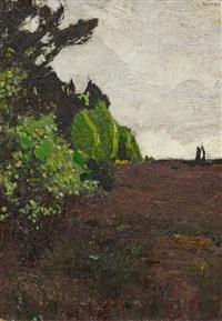 heidelandschaft by walter ophey