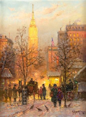 Genteel Times New York By Gerald Harvey Jones On Artnet