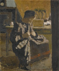 la couture by edouard vuillard