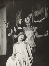 untitled (self-portrait with friend) by claude cahun